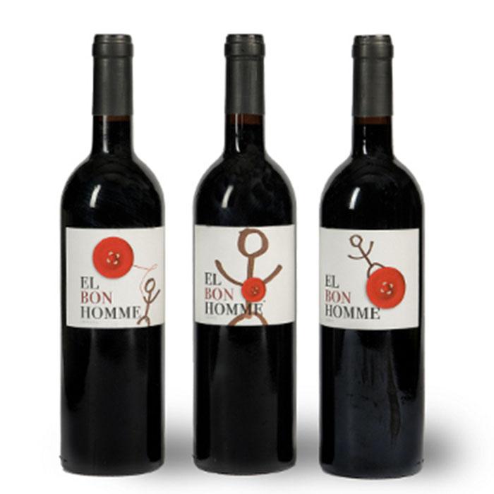 Vino tinto bon homme original cv - Bodegas de vino en valencia ...